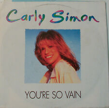 "CARLY SIMON - YOU`RE SO VAIN - THE RIGHT THING TO DO -7"" SINGLE (F884)"