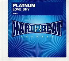 (GT816) Platnum, Love Shy - 2008 DJ CD