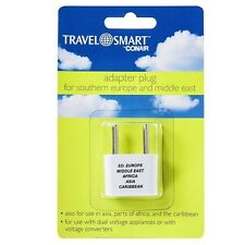 Conair Travel Smart Adapter Plug For Southern Europe - Middle East 1 ea