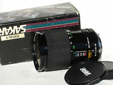 SAKAR 28-80 mm F/ 3.5-4.5 Lens for PENTAX K mount cameras  w. MACRO