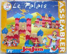 Ancien jeu de construction en bois Jeujura / Le Palais