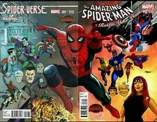 AMAZING SPIDERMAN RENEW YOUR VOWS #1 SPIDER-VERSE #1 MAYHEW HASTINGS VARIANT SET