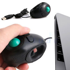 FINGER HAND HELD HANDHELD 4D USB MINI PORTABLE TRACKBALL PC COMPUTER MOUSE MICE