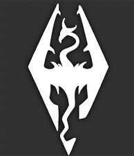 Skyrim Imperial Legion Video Game Vinyl Window Decal  Sticker Car Truck Laptop
