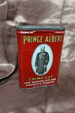 VINTAGE PRINCE ALBERT CRIMP CUT SMOKING TOBACCO TIN
