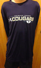 BRIGHAM YOUNG LARGE LONG SLEEVE UNDER ARMOUR HEAT GEAR  BYU COUGARS - Size LG