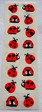 LADYBUGS CHUBBY Mrs Grossman's Stickers Cute Red and Black Ladybugs