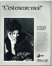 Publicité Advertising 1990 France Telecom