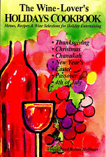 Wholesale: Case of 50 new books: THE WINE-LOVER'S HOLIDAYS COOKBOOK. w/13 menus
