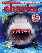 Scholastic Discover More: Sharks by Arlon, Penelope, Good Book