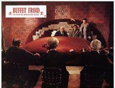 GERARD DEPARDIEU BERNARD BLIER BUFFET FROID 1979 VINTAGE LOBBY CARD ORIGINAL #3