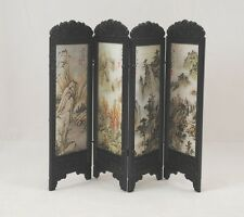Chinese Screen - Mountains dollhouse furniture miniature S8133 1/12 scale