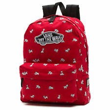 Vans 101 Dalmatian Red Disney Book Bag Vans Off The Wall Backpack