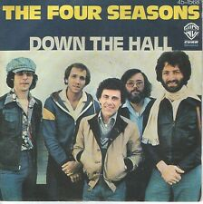 "THE FOUR SEASONS 7""PS Spain 1977 Down the hall"