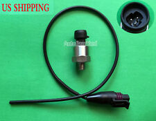 100 PSI Pressure transducer sender sensor stainless steel For OIL fuel air water