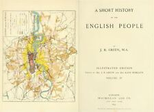 A Short History Of The English People John Richard Green 5 Old Books PDF CD-ROM