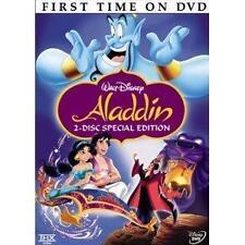 Aladdin Disney DVD 2 Disc Set Special Edition Brand New & Sealed w/ Slipcover