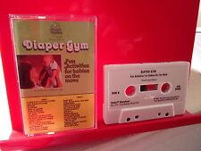 DIAPER GYM Kids cassette tape Priscilla Hegner singing games rhymes 1985 Kimbo