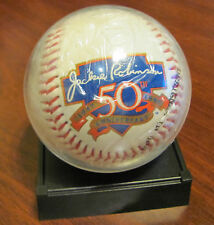 1997 Jackie Robinson Anniversary Signature Baseball Reproduction With C.O.A.