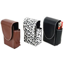 Ladies Cigarette Case Holder With Slot For Lighter Smoking Tobacco Purse Wallet