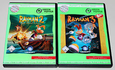 2 PC SPIELE SET - RAYMAN 2 THE GREAT ESCAPE & RAYMAN 3 HOODLUM HAVOC - NEUWERTIG