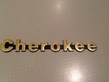 1984 1985 1986 1987 1988 1989 1990 1996 Jeep Cherokee Limited Gold Color Emblem