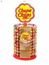 200 chupa chups lolli display wheel stand 200 assorted lolli le moins cher £ 28.79