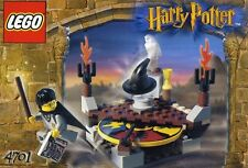 "LEGO HARRY POTTER ""cernita CAPPELLO"" 4701 con HOGWARTS UNIFORM figura completo al 100%"