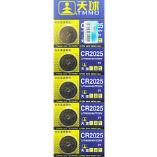 Graceful 5Pcs CR2025 Batteries 3V Coin Cell Button for Toys Remote Weigher Board
