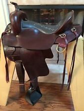 "TN Saddlery 16"" Gaited Western Endurance Plantation style Saddle"