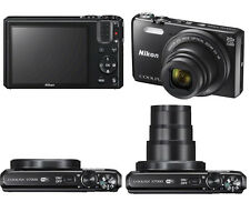 Nikon COOLPIX S7000 16.0MP Digital Camera - (Black)  20X OPTICAL ZOOM