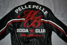 Pelle Pelle Men's Leather Jacket MB Soda Club NEW Authentic 42  M BLACK 21206