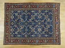 """8'10""""x11'10"""" Hand-Knotted Antique Persian Mahal Even Wear Exc Cond Rug R34787"""