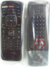 New VIZIO Smart Qwerty Keyboard XRT301 3D Internet Apps HDTV Remote Control