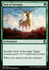 MTG SEAL OF STRENGTH FOIL EXC - SIGILLO DELLA FORZA - EMA - MAGIC