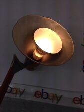 Vintage Luxo Lamp RARE ORANGE Adjustable Swing Arm Drafting Industrial Desk