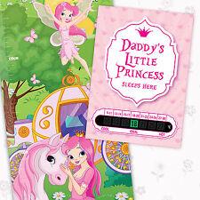 A6 Princesa Termómetro habitación y la Princesa Altura chart & libre pegatinas