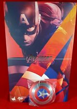 1/6 Hot Toys Avengers Age of Ultron MMS281 Captain America metal shield magnetic