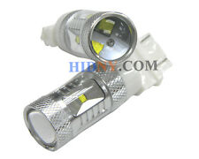 Pair of 30 Watt High Power CREE 3157 3057 Super Bright LED Light Bulbs White