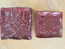 PartyLite Thai Inspiration Pillar Candle Holders P9167 Set of 2