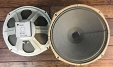 """Vtg Eminence Magnavox 12"""" Speaker Ribbed Woofer 1960s Tube Amp Pull Tested Works"""