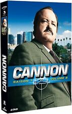 23259/PO/CANNON SAISON 1 VOLUME 2 COFFRET 4 DVD 13 EPISODES NEUF