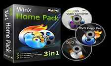 WinX 3 In 1 Home Pack-DVD Ripper Platinum-DVD Copy Pro--HD Video Converter Pro