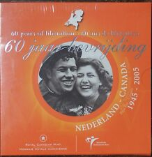 CANADA 2005 NETHERLAND 60 YEARS OF LIBERATION COIN SET - NCC