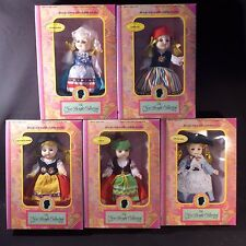 LOT OF 5 1992 Vintage Bright Collection BookCase Dolls NIB