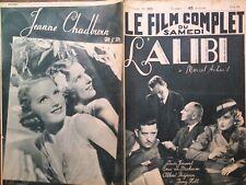 """LE FILM COMPLET 1938 N 2083 """" L' ALIBI """" de M. MARCEL ACHARD: avec LOUIS JOUVET"""