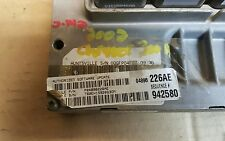 4896226AE 2002 CHRYSLER 300M 3.5L ENGINE CONTROL UNIT.