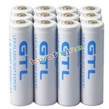 12pcs 18650 GTL li-ion 10000mAh 3.7v Rechargeable Battery for LED Flashlight