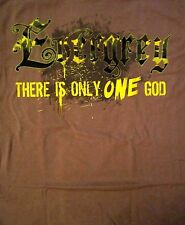 EVERGREY cd lgo THE GOD WITHIN Official Brown SHIRT LG there is only one God OOP