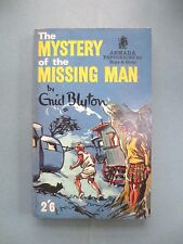 VINTAGE Enid Blyton Book MYSTERY OF the MISSING MAN Five Find outers 1965 VGC